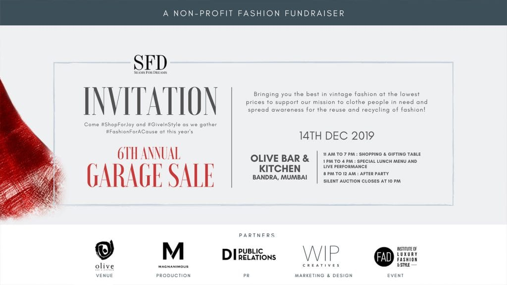05 The 6th Annual Seams For Dreams Garage Sale is THE Holiday Shopping Event of the Year
