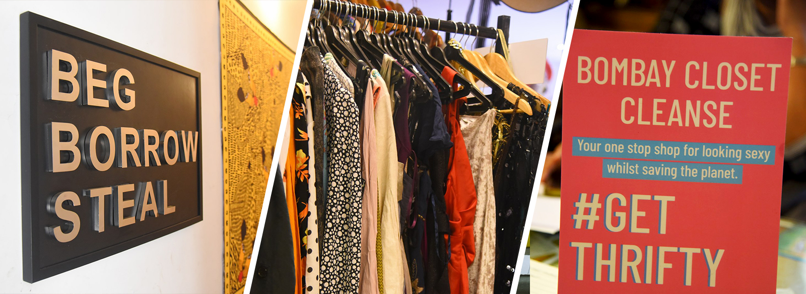 Thrifty Weekends with Seams For Dreams and Bombay Closet Cleanse - Seams For Dreams